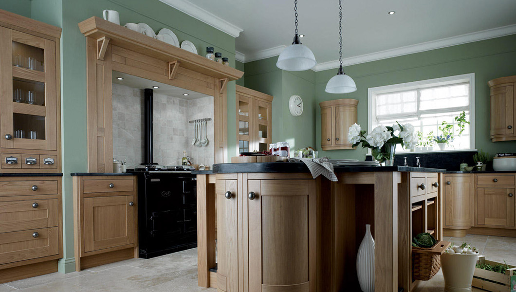 Milbourne Oak | Classic Collection | AS Kitchens Ltd
