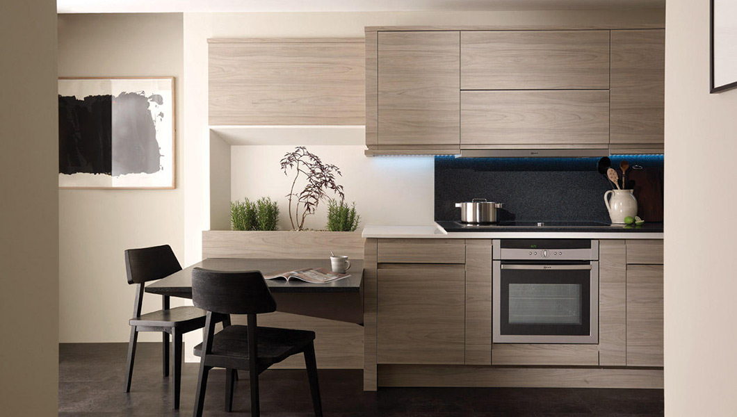 Remo Elm | Contemporary Collection | AS Kitchens Ltd